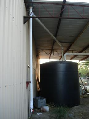 collecting rainwater, rainwater collection, filtering rainwater